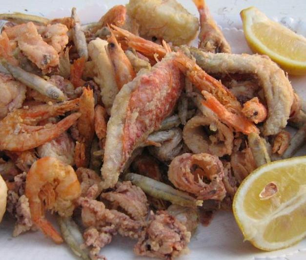 Sea food fry