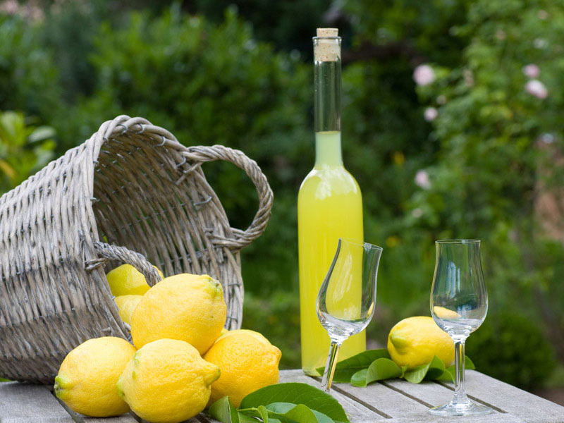 Original recipe of Limoncello - Sorrento